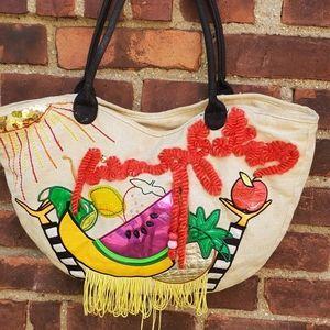 Betsey Johnson super fun bag